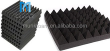 Low price of Self adhesive audio room sound acoustic panel Pyramid Acoustic Foam Panels