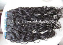 Grade AAAA 100% Human Hair Weft/Virgin Brazilian Hair Weaving Natural Wave