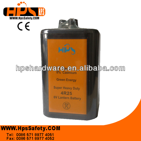 2014 China Hangzhou Manufacturer Lantern Battery for Warning Light