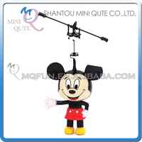 Mini Qute RC remote control kawaii flying Helicopter cartoon mouse model plastic doll kids Electronic toys NO.G15086-1