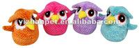 Prefab homes products PETLIKE supply pet plush annoying hariy bird toy singing loved birds stuffed plush bird toys