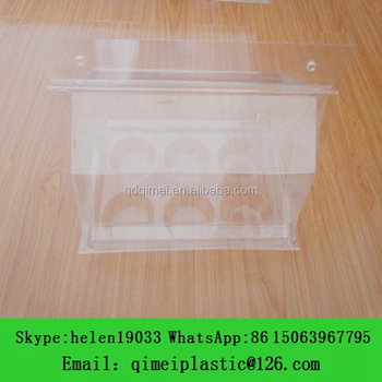 Flower Plant Plastic Blister Packing Clamshell Container