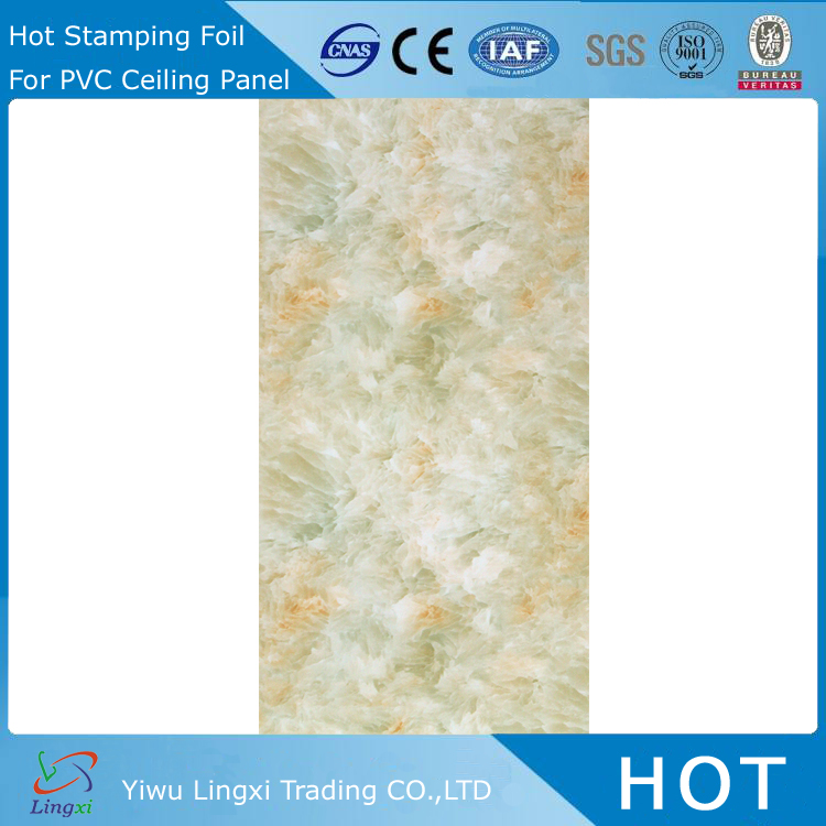 LXG2642 PVC Film Ceiling Heat Printing Transfer Films camo water transfer film