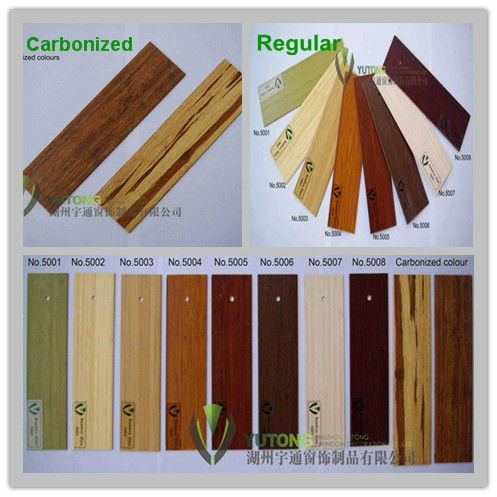 *High Quality Bamboo Vertical Blinds