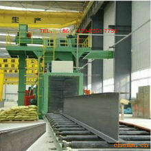 QH69 H type steel sheet shot blasting machine/ automatic cleaning equipment in china