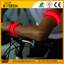 personal red flashing safety light armband