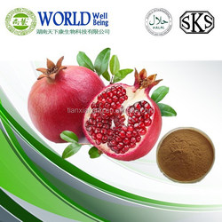 Skin whiten Pomegranate Extract /low price Pomegranate Extract powder Punicalagin