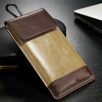 CaseMe Leather cell phone back case for iphone 6s, Universal Pouch Case for iPhone 6s Mobile Phone Bag