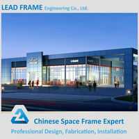Airport Structure Steel Fabrication Outdoor Canopy Metal Roof