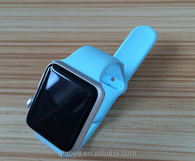 42mm OEM top grade silicone rubber watch band interchangeable for apple watch band