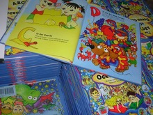 Children book with hardcover/ luxury board binding and full color printing service and cheapest price