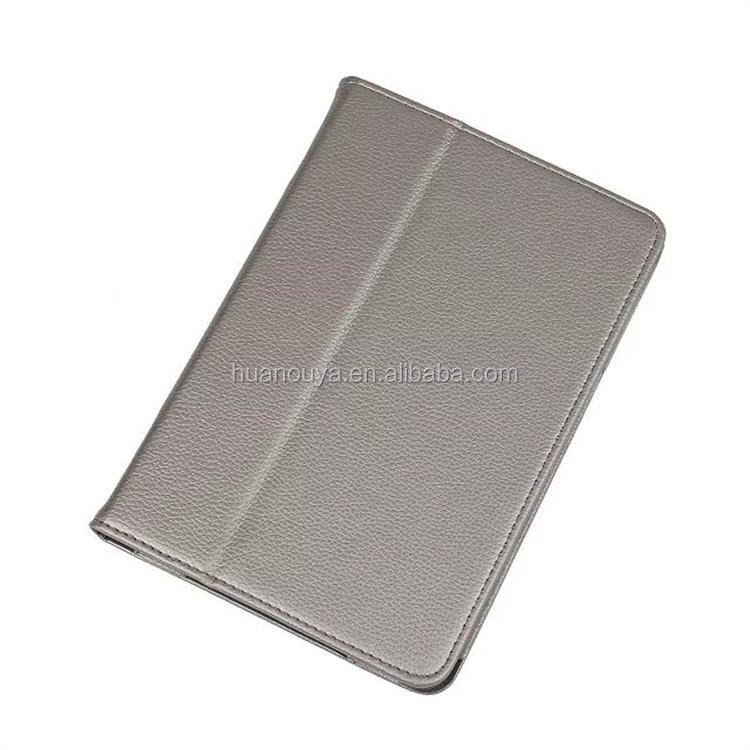Customized Italy leather wallet style flip cover for ipad mini 4 genuine leather case