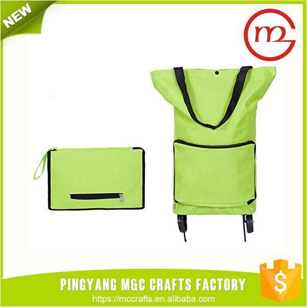 Excellent Material assured trade portable trolley bag parts