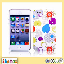 New mobile phone pc shell wholesale for iphone 5, Creative mobile phone shell for iphone 5