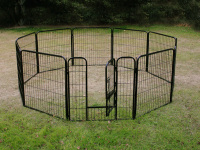 large pet exercise fence dog playpen