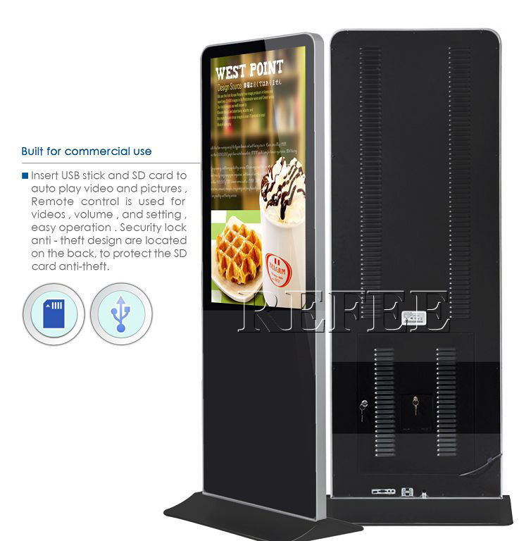 led advertising display screen/purchase extra accessories digital signage monitor