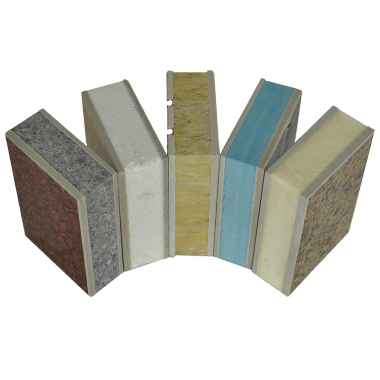Promotion Seasonal exterior wall cladding price rock wool board plastic panel