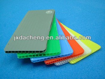 Durable recycling Polypropylene PP Hollow Board
