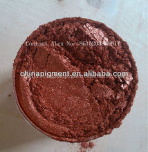 chemical mica+iron oxide metallic pearl pigment