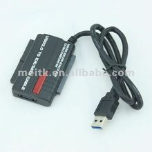 "USB 3.0/2.0 to 2.5""/3.5"" SATA IDE HDD DVD-RW DVD-R0M Adapter Converter Cable OTB"