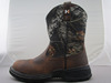 Mens Pull-On Waterproof Cowboy Boots