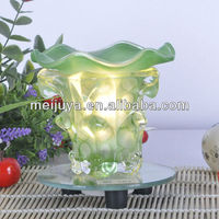 Wholesale electric tuning light glass decorative antique oil lamp C0054