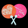 fashion christmas gift mini plastic hand fan for children