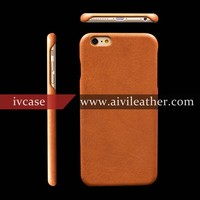 Classy Cell Phone Covers for Full Grain Leather Case Iphone 6 Back Cover