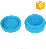Best selling customized nonstick food grade silicone wax container/ silicone jar dab wax containers /silicone container for wax