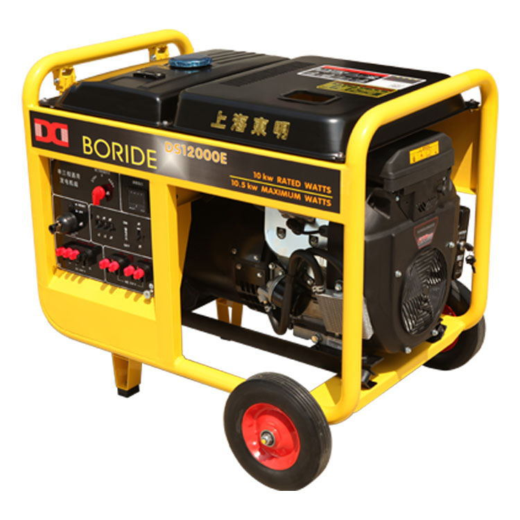 Portable Gasoline Power Generator 10KW Emergency Electric 4-Stroke for Garden & Outdoor