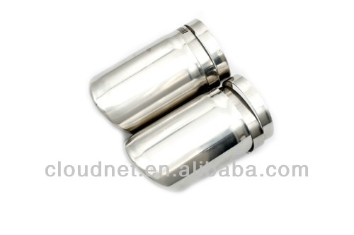 Stainless Steel Direct Bolt On Exhaust Muffler Tip For For Audi A4 B8
