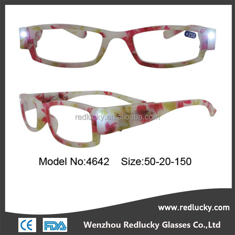 Customizable frames colors flex spring hinge reading glasses