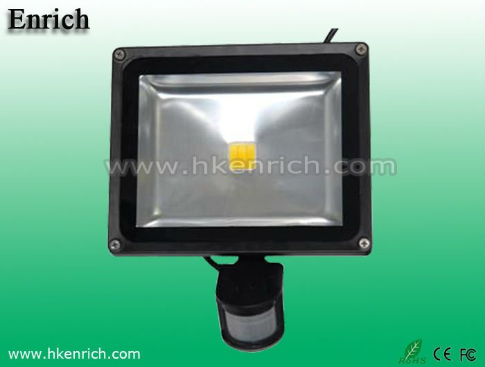 10w 30w 50w outdoor BridgeLux Motion Sensor flood light led