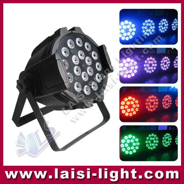 New DMX 18*5W RGBW 18pcs 4in1/5in1/6in1 LED PAR light stage 5W led par light indoor par lighting