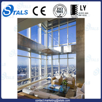 Glass cladding/building glass wall/glass wall curtain