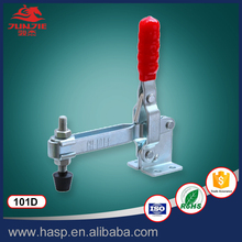 Heavy Duty industry horizontal toggle clamps with red handdle