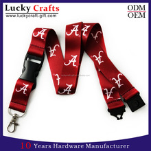 Hot Sale Custom Personalized Printed Lanyards With Safety Breakaway Clips