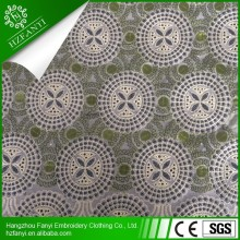 Swiss cotton cupion lace top-one china to nigeria beaded lace wedding dress