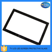 High definition video display touchscreen tempered glass with customized logo