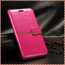 High Quality Oil Wax Flip Wallet Flip Leather Case for Samsung Galaxy Grand Prime G530
