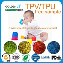 Factory supply tpv tpu plastic raw material TPV TPU pellet for children toys