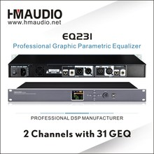 EQ231Double 31 bands Professional Digital Graphic Equalizer