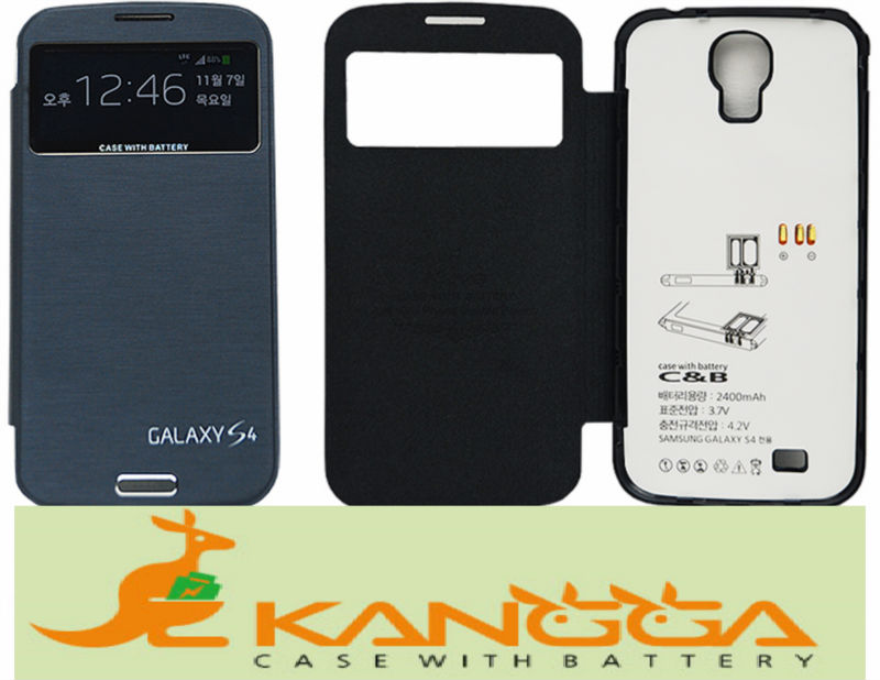 Galaxy S4 rechargeable smartphone case