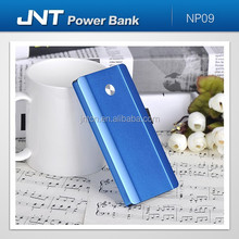 Ultra-thin design dual output rechargeable polymer cell Portable Power Bank 5000mah