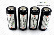 High Capacity Flashlight rechargeable 26650 Li-ion Battery 3.7V 4500mAh with ICR26650