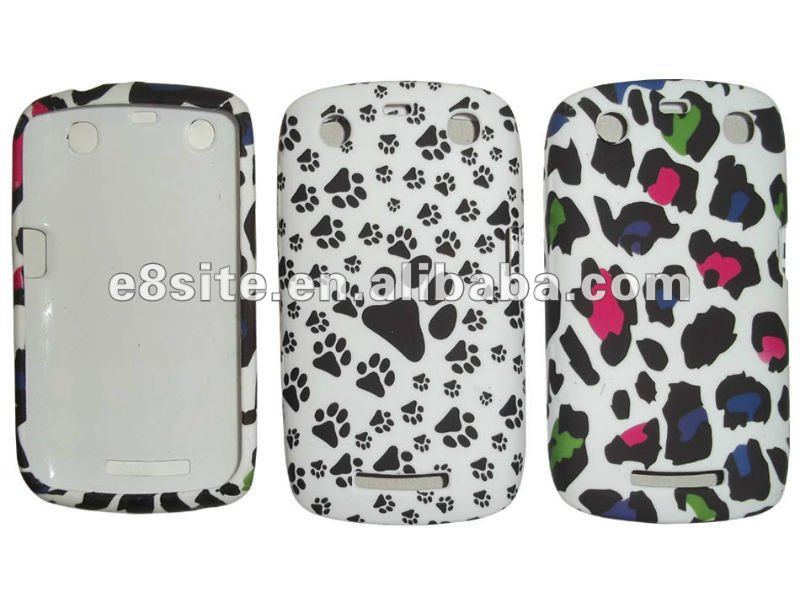 Lovely Water Printing TPU Cover For Blackberry Curve 9350/9360/9370