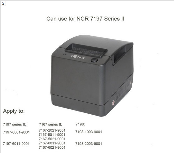NCR 7167-6011-9001Thermal Print Head -aoi production