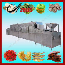Fish food dryer oven/Microwave bean sterilization and dehydration machine