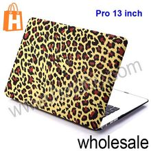 New Colorful Folio Plastic Laptop Protective Hard Shell Case for Apple Macbook Air Pro 13 inch