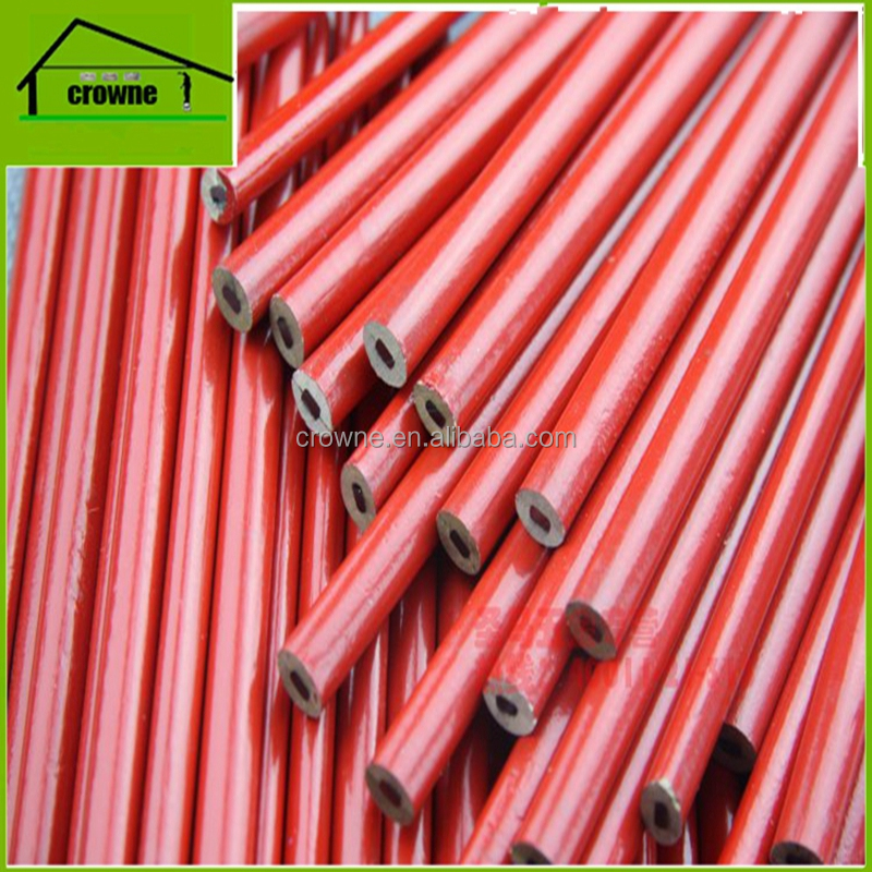 High quality wooden round cheap carpenter pencil